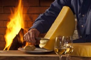 Raclette Käse Käse Schaub